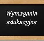 Wymagania edukacyjne – Środowisko przyrodnicze Polski